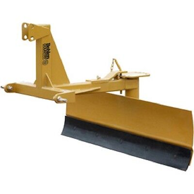 New 5 Medium Duty Adjustable Grader Blade Tractor Implement Category 1