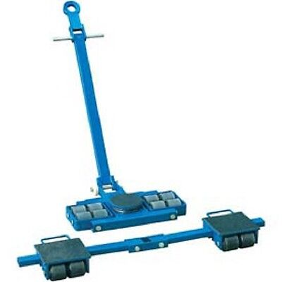 New Steerable Machinery Moving Skate Roller Kits 12 Ton Capacity