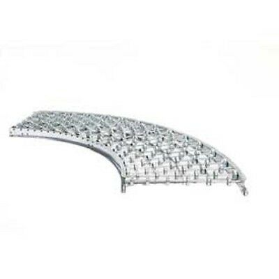 New Unex Sw 18w 90 Degree Curve Galvanized Steel Skatewheel Conveyor