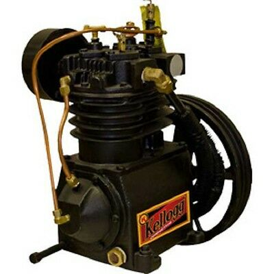 New Kellogg Two-stage 5hp Air Compressor Pump