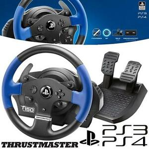 REFURB PS4/PS3 TM FF RACING WHEEL Thrustmaster T150 Force Feedback Racing Wheel, PS4/PS3/PC - VIDEO GAMES 108132894