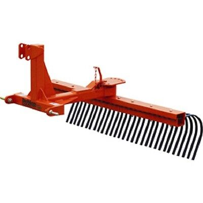 New 5 Rock Landscape Rake Attachment Category 1 Pins Category 0 Spacing