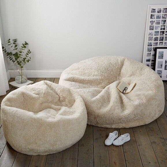 Terrific The White Company Sheepskin Beanbag In Truro Cornwall Gumtree Gmtry Best Dining Table And Chair Ideas Images Gmtryco