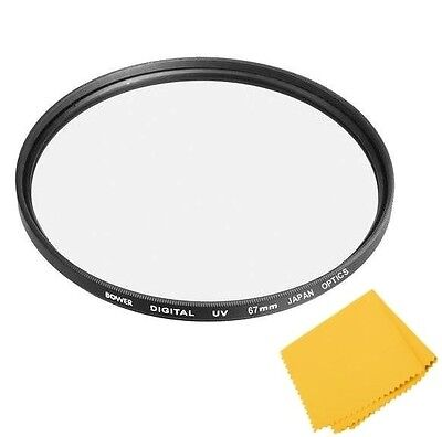 Bower 67mm Digital HD UV Filter For Nikon Coolpix P900 P950 & Sony DSC-R1