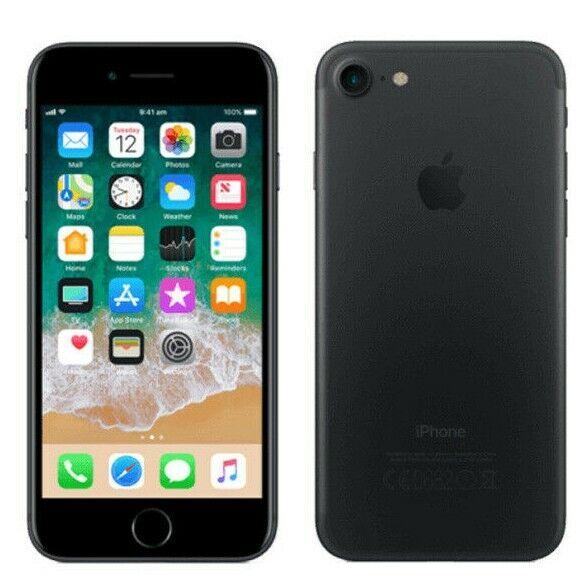 Apple iPhone 7 128GB Black Unlocked Good