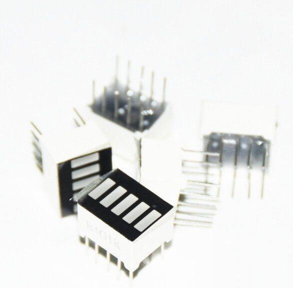 2pcs NEW LED Red Bargraph 5 Segment LED Display 5 LED Bar Display