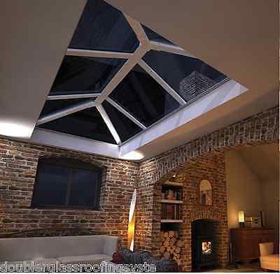Skypod Glass Lantern Roof 1.5m x 3m