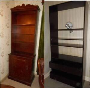 Shelf/Cupboard Ebony Finish Gulfview Heights Salisbury Area Preview