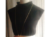 New Black Sleeveless Turtle/Polo Neck Mandarin Collar Elasticated Crop Top.Size 20/22