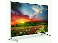 "Panasonic 65"" smart LED wifi 4k UHD tv Hd freeview 4 time batter picture"
