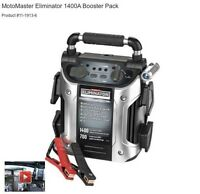***GREAT CONDITION*** MotoMaster Eliminator 1400A Booster Pa