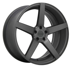Roues (Mags) 4 saisons Ruffino Boss Anthracite mat 17 pouces