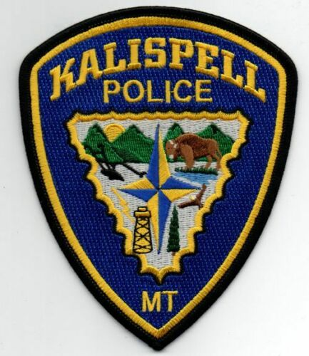 MONTANA MT KALISPELL POLICE NICE PATCH SHERIFF