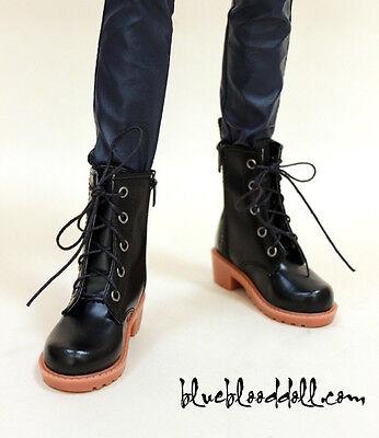 1/3 bjd sd13 sd17 boy doll shoes black martin boots super dollfie luts #S-85