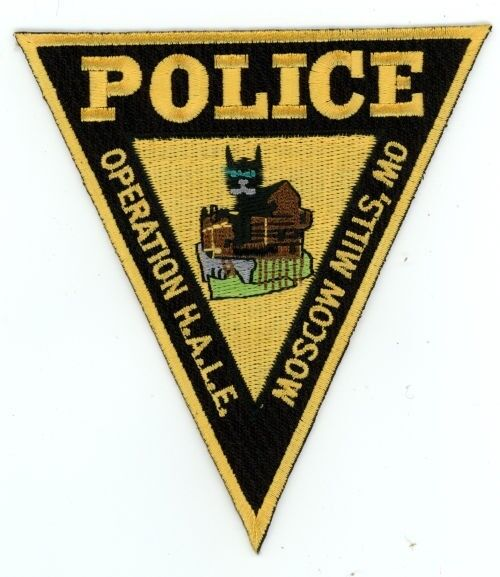 MOSCOW MILLS POLICE MISSOURI MO PATCH SHERIFF