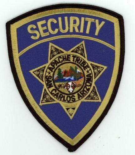 ARIZONA AZ SAN CARLOS APACHE TRIBE SECURITY NEW PATCH POLICE SHERIFF