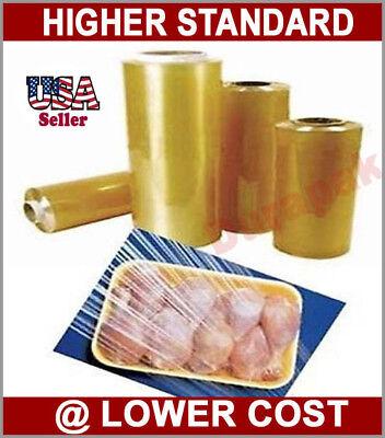 18x4000 12 Micron Regular Duty Pvc Meat Film Supermarket Packing Packaging