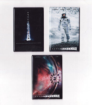 INTERSTELLAR MOVIE POSTER MAGNETS (nolan print limited one sheet imax - Print Magnets