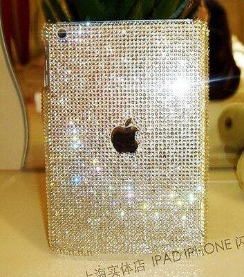 3D Handmade Bling sparkle diamond Resin crystal For Apple iPad MINI case cover