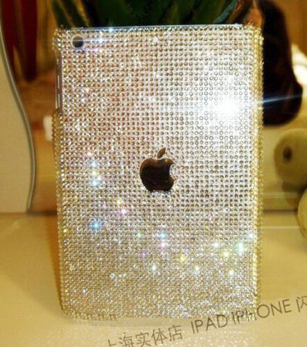 3D NEW Handmade Bling sparkle Resin Crystal For Apple iPad MINI case cover D3A2 | eBay