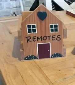 Wooden Remote storage box