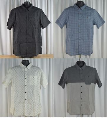 NWT Men's Voyager Casual Stretch Woven Short Sleeve Button Down Shirt Variety