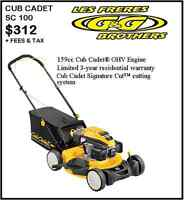 GREAT DEALS ON CUB CADET LAWN MOWERS AT G & G BROTHERS LTD
