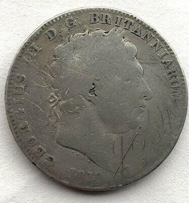 Great Britain 1819 Georgia III Crown Silver Coin