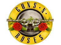 Guns N' Roses Live Tour Tickets X2