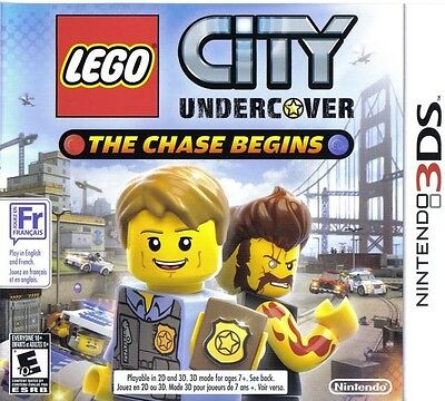 Lego City Undercover  The Chase Begins   Nintendo 3Ds Game Only