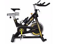 Indoor Spinning Exercise Bike - Bodymax B15 (black) inc. LCD Monitor