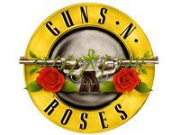 2 x Guns n Roses Golden circle tickets Slane Castle