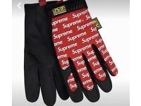 Supreme/ Mechanix work gloves