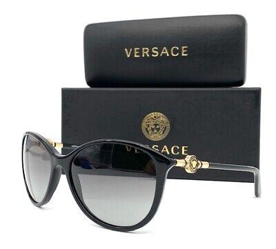 VERSACE VE4251 GB1/11 Black / Gray Gradient 57mm Sunglasses