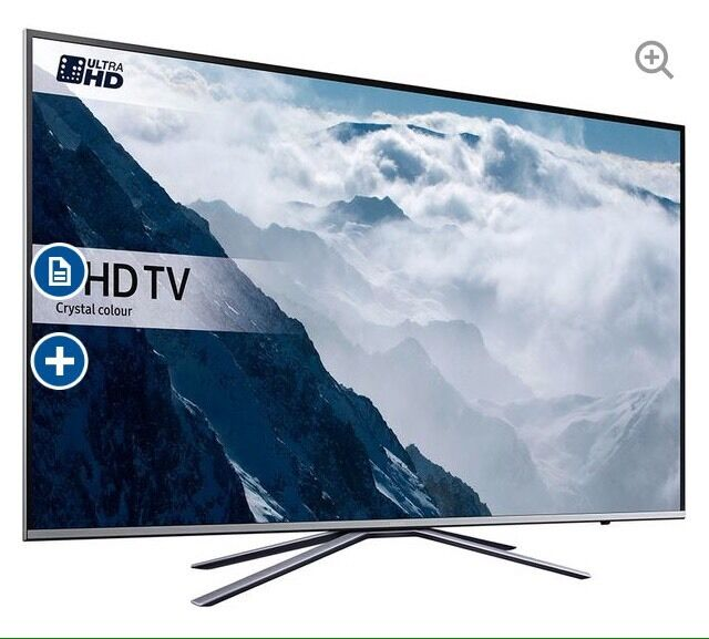 """43"""" SAMSUNG Smart 4k Ultra HD HDR LED TV UE43KU6400 Reduced tiny cosmetic markin West Derby, MerseysideGumtree - 43"""" SAMSUNG Smart 4k Ultra HD HDR LED TV UE43KU6400 Reduced tiny cosmetic mark doesnt effect performance first to see will buy... Viewing welcome... TV is boxed I can deliver this tv anywhere in Liverpool or the Wirral. The tv can be fully..."""