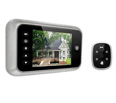 LCD Digital 3.5inch Peephole Viewer 120 Degrees Doorbell Door Eye IR Camera MC