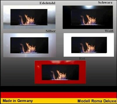 Gel and Ethanol Fire place Fireplace Camino Model Roma Deluxe  Choose the color