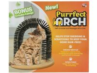 Purrfect Arch Cat Self-Grooming & Massaging Toy by JML