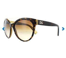 Dolce & Gabanna Top Havana Glasses
