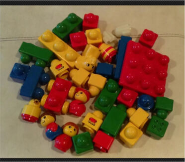 Duplo kids building blocks