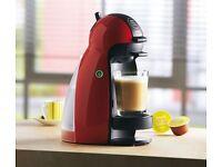 Dolce Gusto Piccolo/Genio coffee machine red - half price