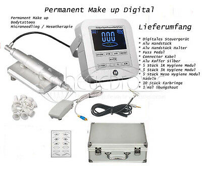 Permanent makeup Digital Gerät Eyes Lips Brows Meso Tattoo Aktions Angebot