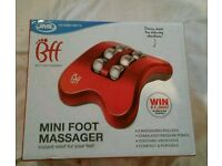 Brand new mini foot massager