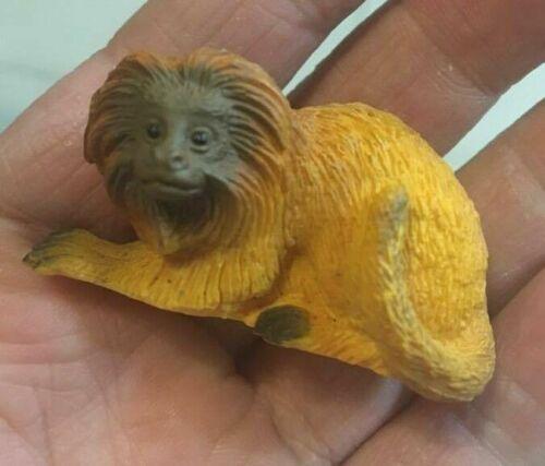 Yowie Golden lion tamarin Monkey Animal mini PVC Figurine Figure Model