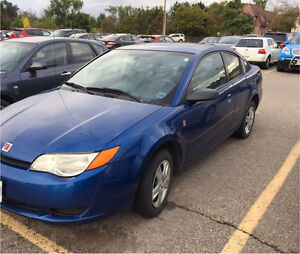 2006 Saturn Ion as is