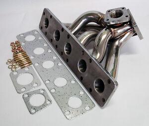 T3 Flange Stainless Steel Turbo Manifold Fits Audi 2.2L 20V S2 S4 RS2 K26