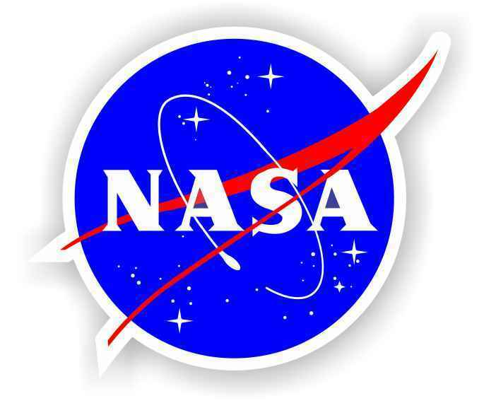 "2"" NASA Vinyl Decal Sticker Multi-Color High Quality Space Shuttle Outer Program"