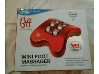 Brand new Mini foot massager