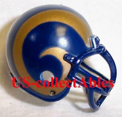 NFL ST LOUIS RAMS Replica Football Helmet Keychain Classic Collectible Souvenir Classic Nfl Football Keychain