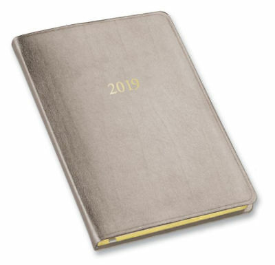 2019 / 2020 Gallery Leather Monthly Weekly Desk Planner Agen